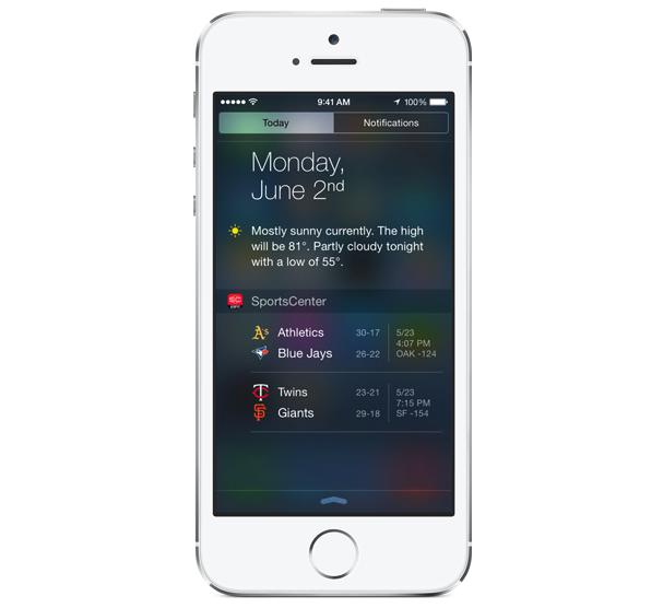 Applicazioni iOS 8 con Widget