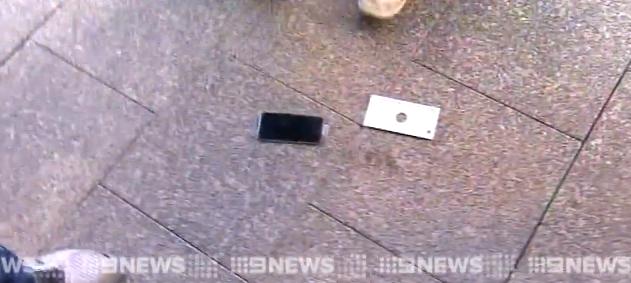 iPhone cade a terra