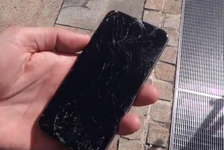 Drop test iPhone 6