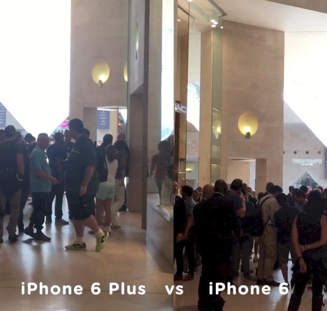 stabilizzatore video iPhone 6 plus