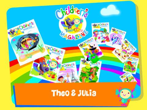 Theo&Julia Children Magazines