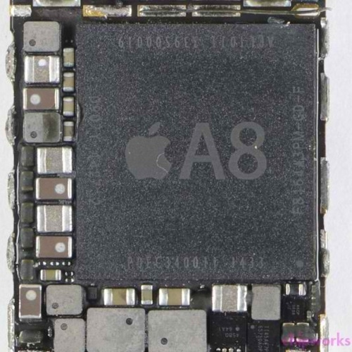 apple A8 icon chipworks