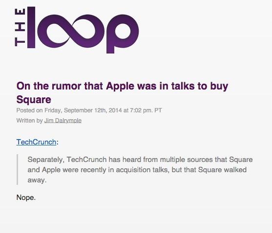 apple square loop