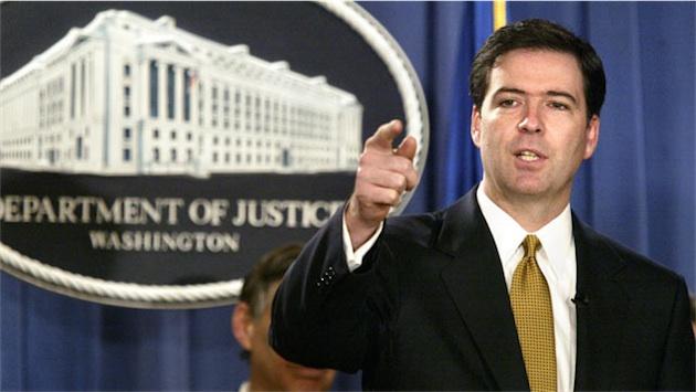direttore FBI James Comey