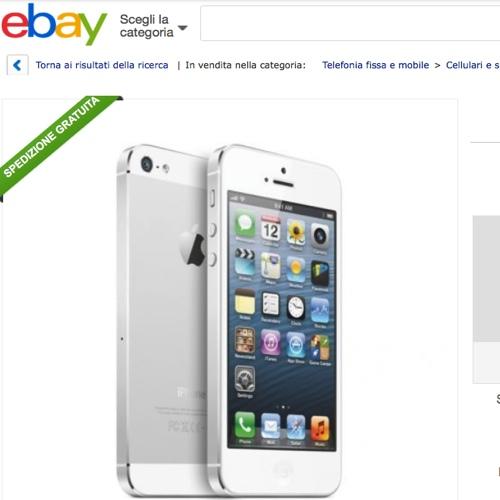 Iphone 5 ricondizionato ebay