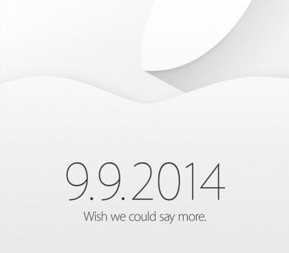 invito apple 9 settembre 2014