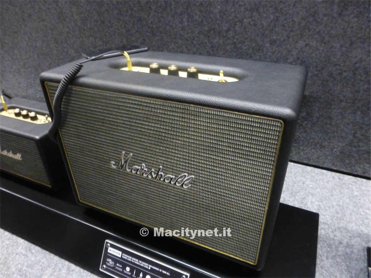 Marshall fa ballare ifa con i nuovi sistemi audio acton e woburn - Sistemi audio casa ...