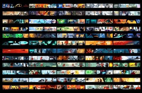 pixar colori incredibili
