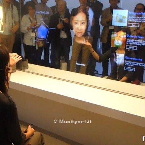 specchio smart Panasonic IFA 2014 700