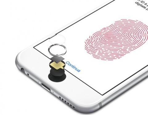 touch id di iphone 6 full