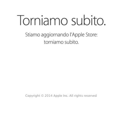 Apple Store online chiusi icon 500 2014
