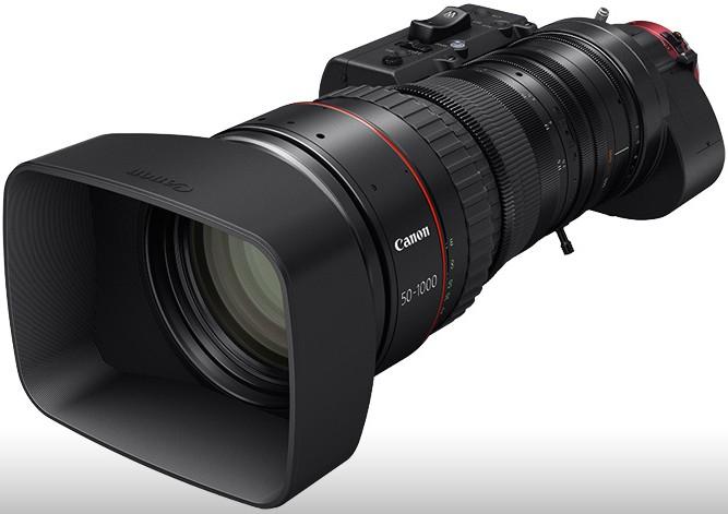 Canon Cine-servo 50-1000 mm, ecco l'obiettivo da 78 mila dollari