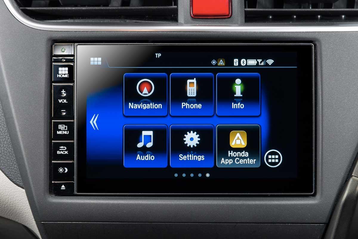 Il sistema audio e d'informazione Honda Connect