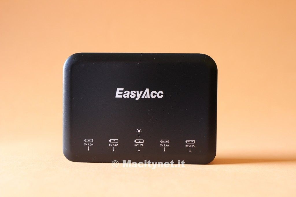 Recensione caricabatterie EasyAcc 40W