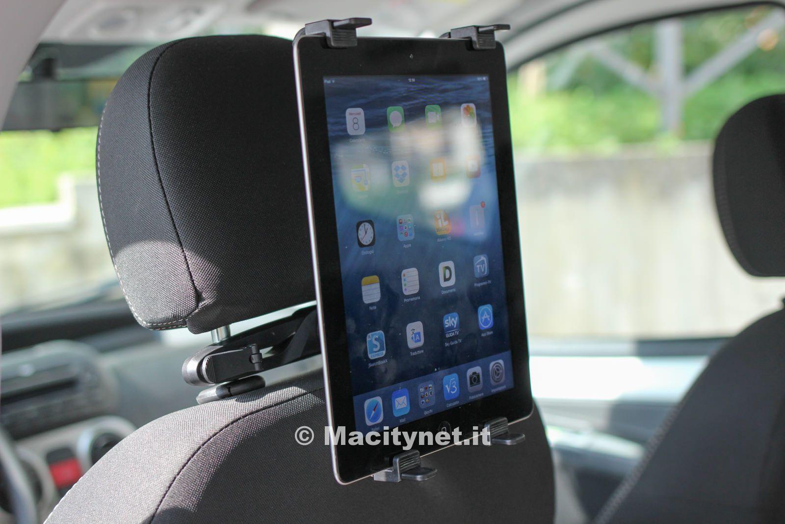 Recensione supporto tablet per auto