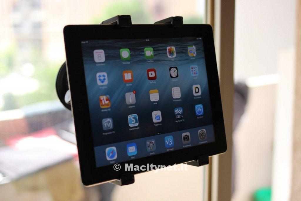 Recensione supporto a ventosa per tablet