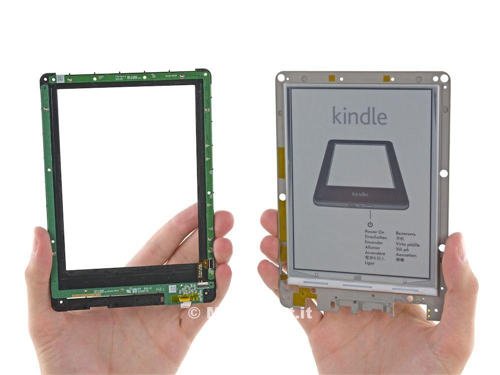 Kindle e Fire HD 6 smontati 1
