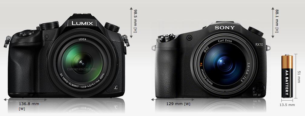 Panasonic FX1000 e Sony RX10