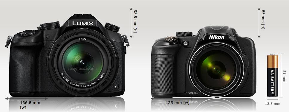 La Nikon Coolpix P600 è più compatta ed ha uno zoom decisamente più esteso