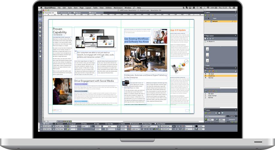 QuarkXPress 2015 icon 600 usability
