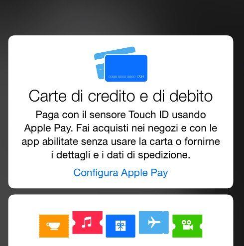 Apple Pay attivo
