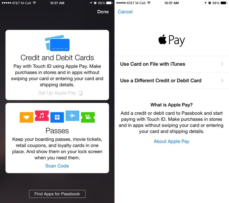 attivare Apple Pay su iPhone