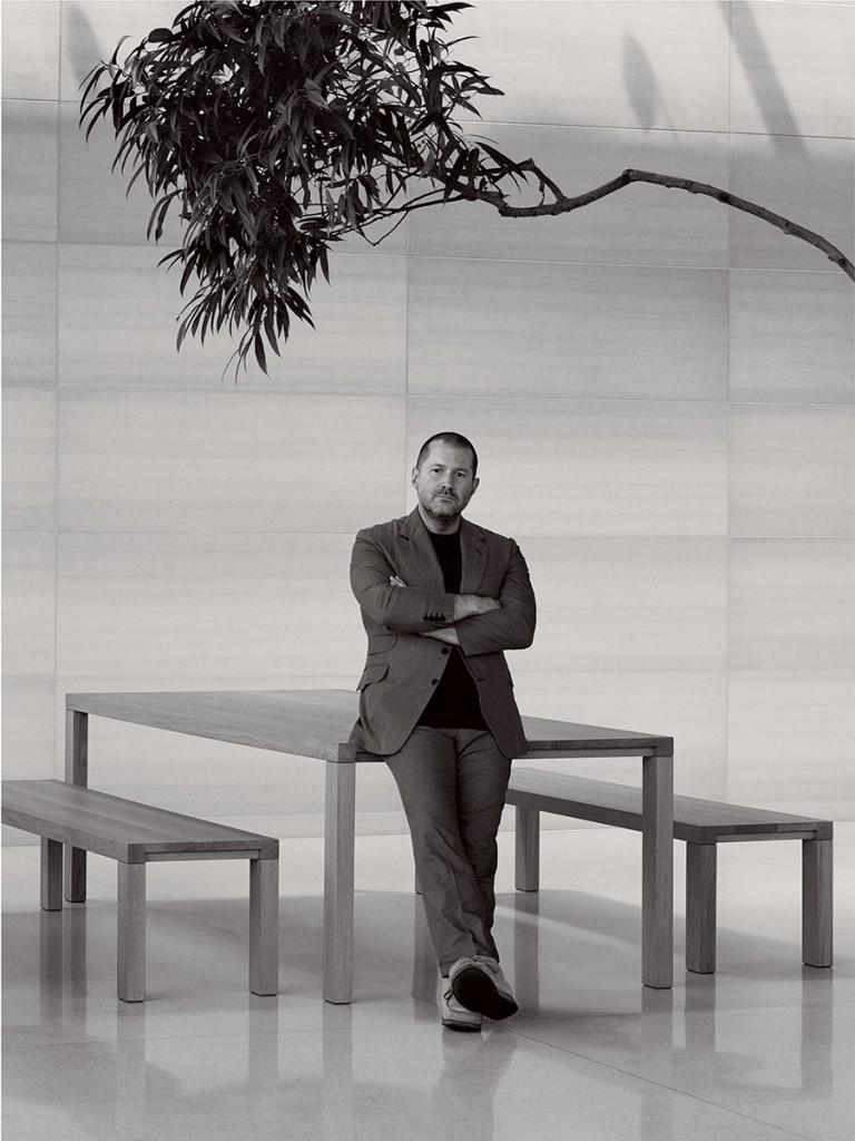 Jonathan Ive fotografato da David Sims, Vogue, ottobre 2014