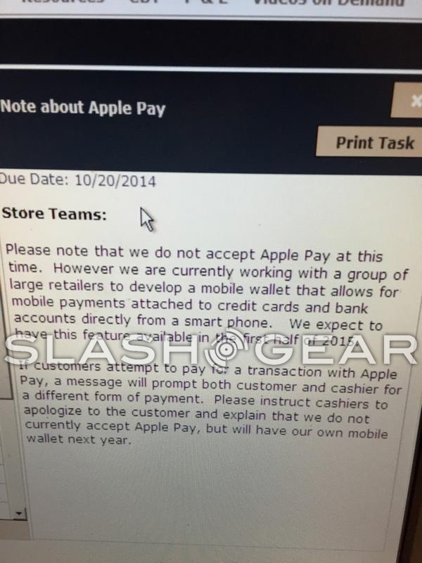 boicottare Apple pay