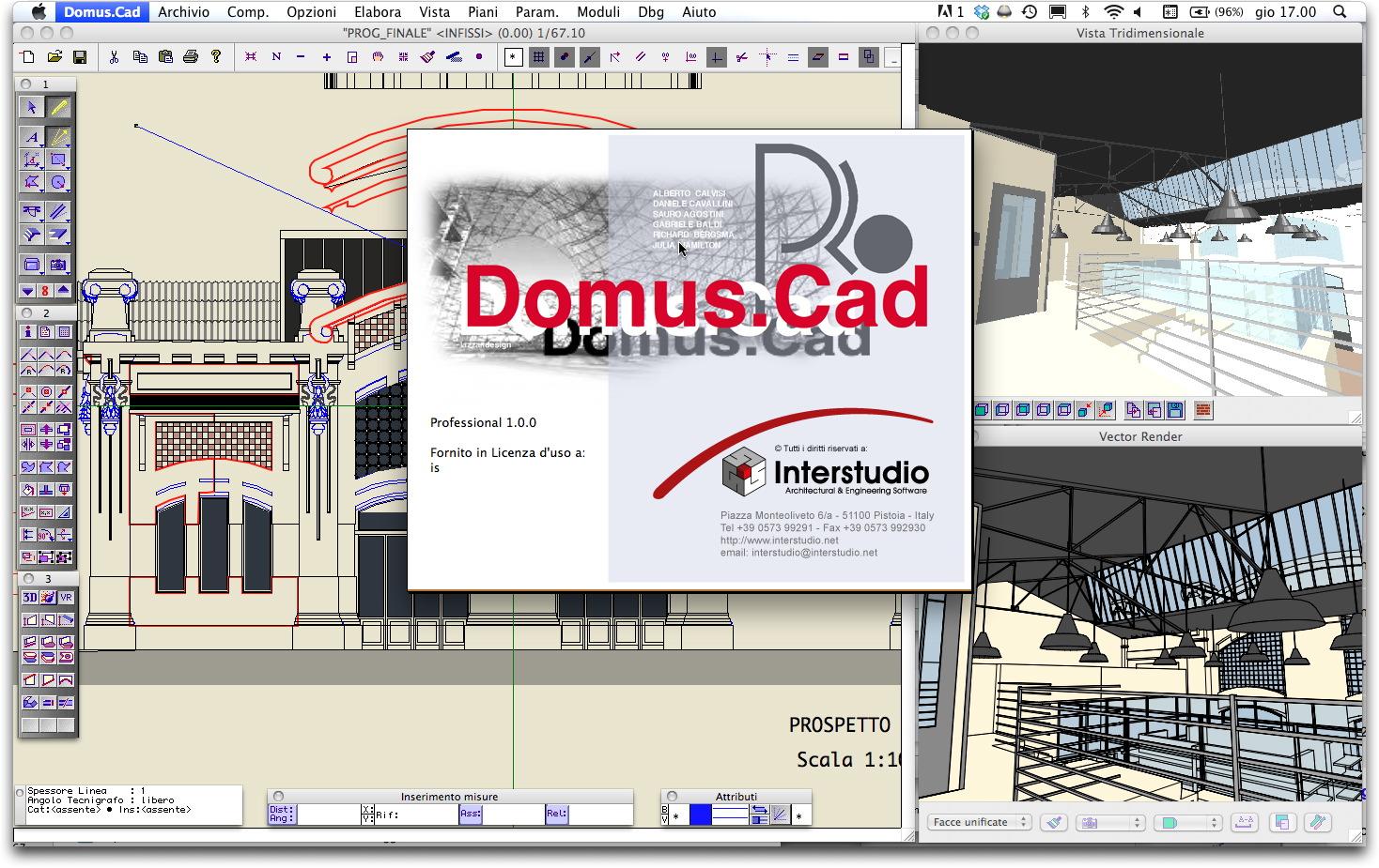 Il cad domus cad pro 2 edubase gratuito per studenti - Software per progettare casa ...
