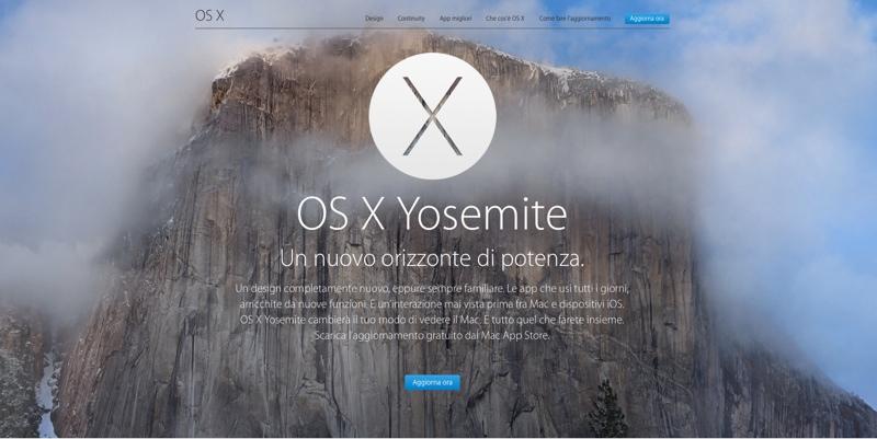 adozione Yosemite 800