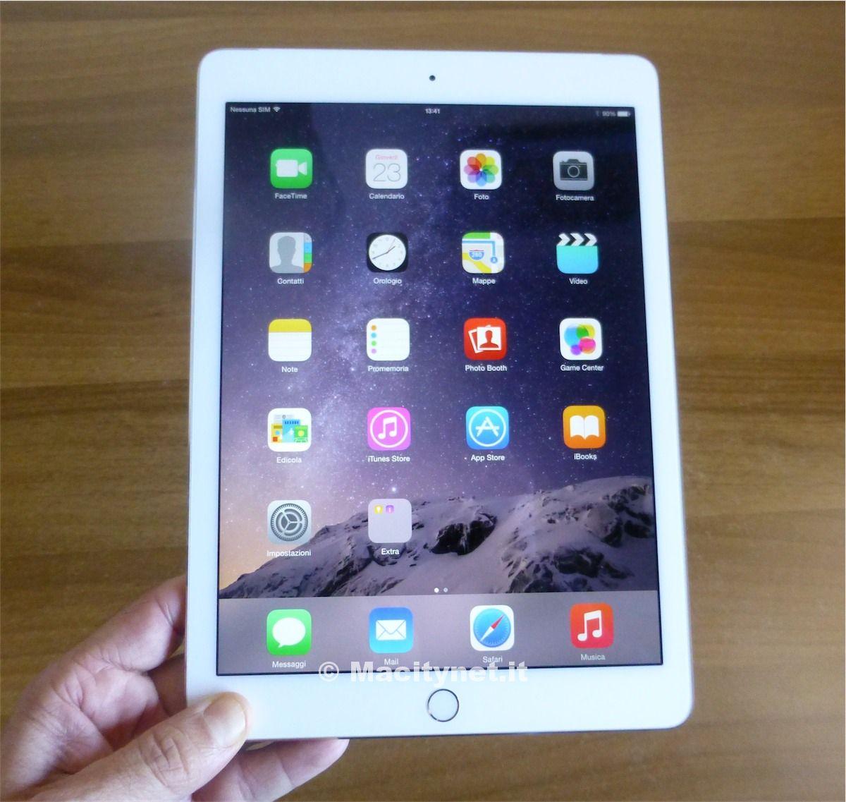 iPad Air 2 visto da vicino 1