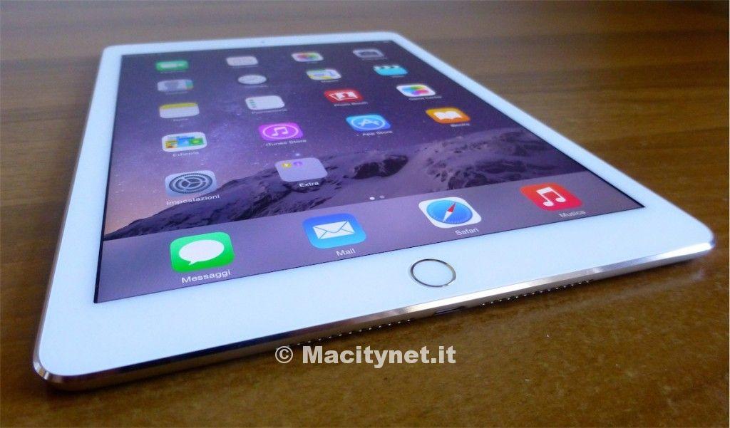 iPad Air 2 visto da vicino 3