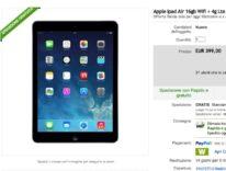 Nuovo iPad Air Wi-Fi + 4G LTE a 399 euro in super offerta eBay: pezzi limitati