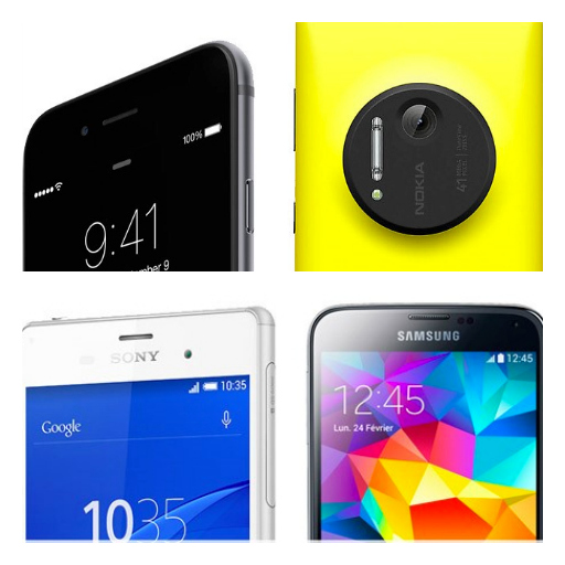iPhone 6 contro Lumia 1020, Sony Xperia X3 e Samsung Galaxy S5
