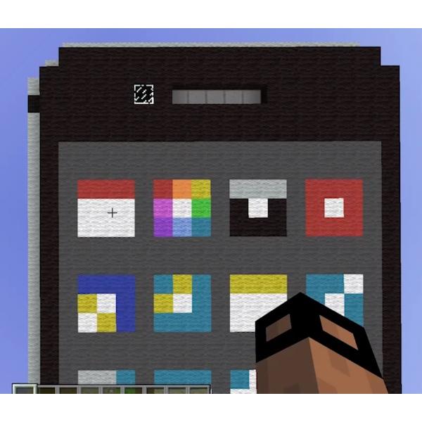 iPhone ricostruito in Minecraft icon 600