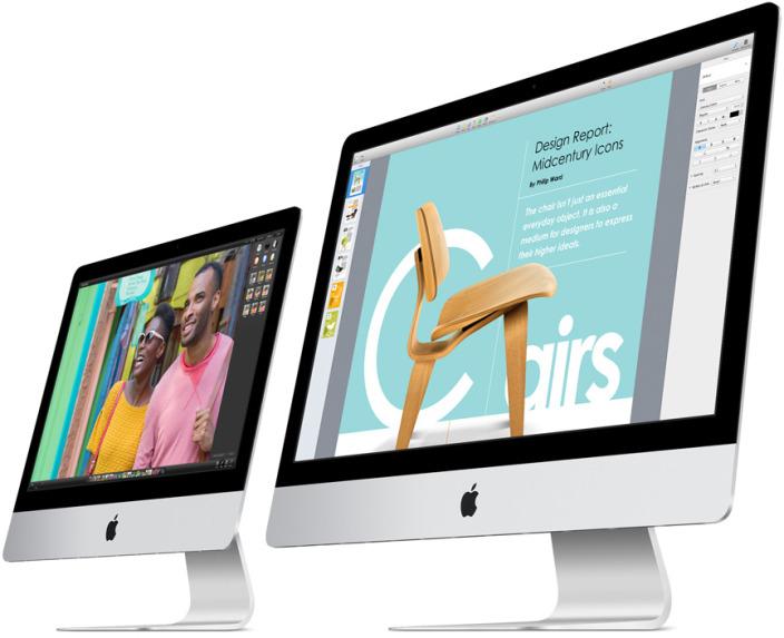 nuovi iMac con display Retina