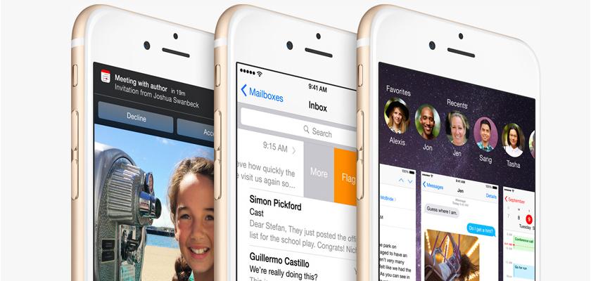 iOS 8.1 novità