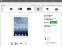Su Apple Store iPad ricondizionati con sconti fino a quasi il 50%