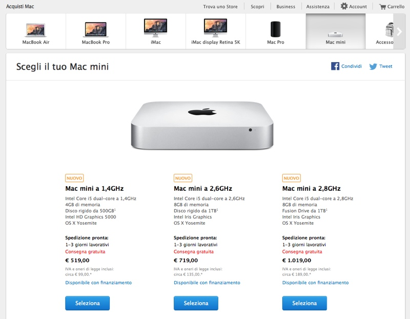 nuovi mac mini 17ott14