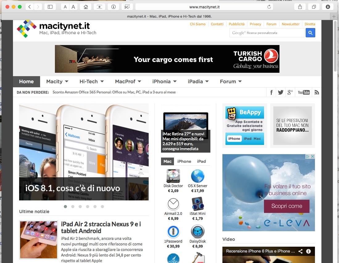 macitynet cresce