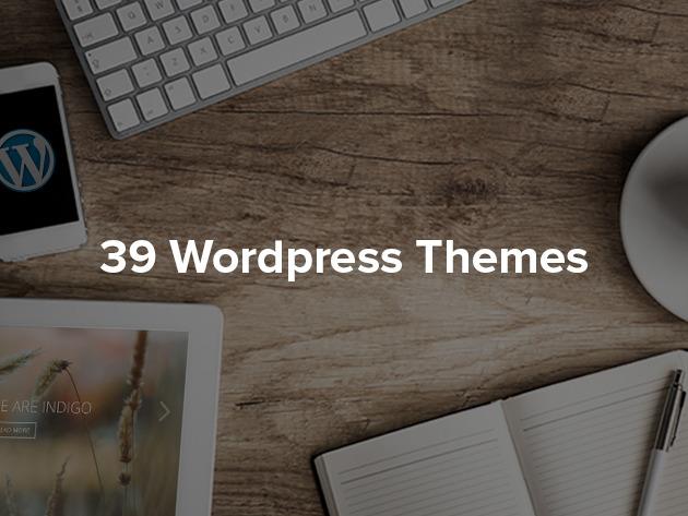 39 temi per Wordpress di qualità a meno di un euro l'uno: 31 euro