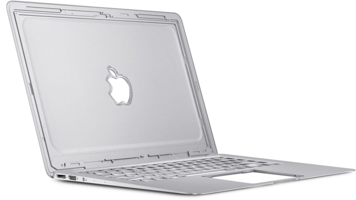 MacBook Air Retina con logo 3D
