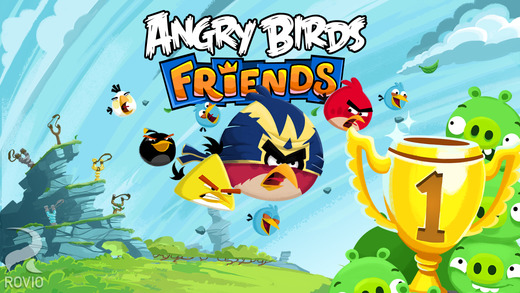 Aggiornamento Angry Birds Friends
