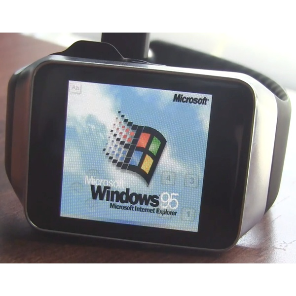 smartwatch windows 95 su Galaxy Gear icon 600