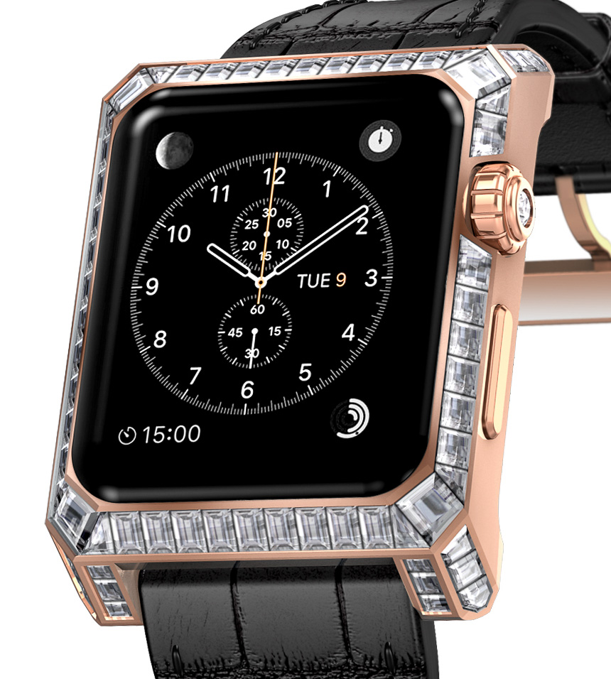 Apple Watch con diamanti