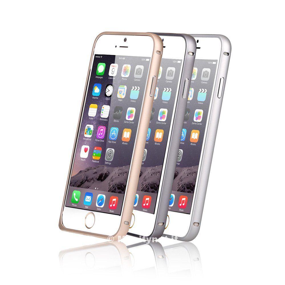 Cornici in alluminio per iPhone 6 e 6 Plus: 7 euro, sconto quasi finito