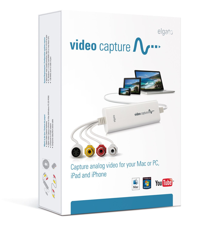 conversione video analogico digitale mac
