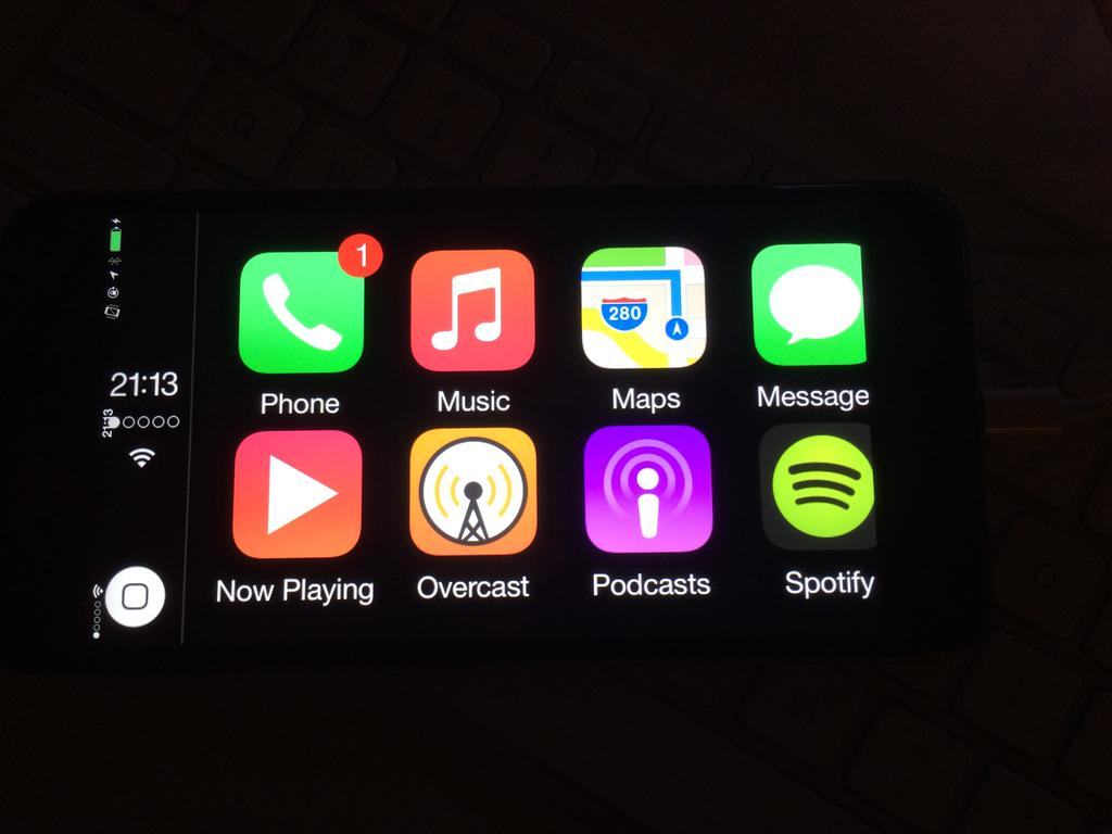 CarPlay su iPhone