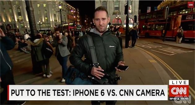 iPhone 6 o videocamera professionale? La prova di un cameramen