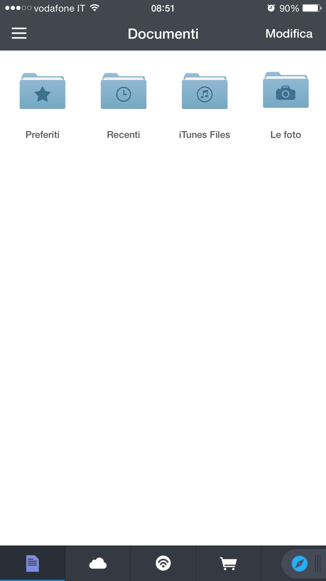Come visualizzare e gestire i file in iCloud Drive su iOS